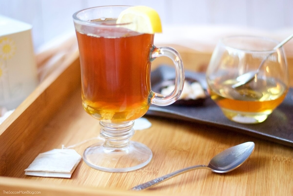 Hot Beverages Reduce the Symptoms and the Duration of Viral Infections
