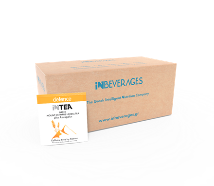 Picture of INTEA DEFENCE | B2B Pack of 90 Pyramid Τeabags