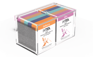 Picture of INTEA Acrylic box with 40 pyramid teabags individually wrapped