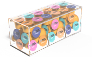 Picture of INTEA Acrylic box with 60 Nespresso capsules