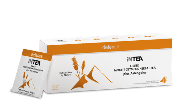 Picture of INTEA Defence| Pack of 21 Pyramid Teabags